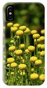 Yellow Tansy IPhone X Case