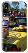 Yellow Tr6 IPhone Case