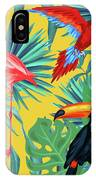 Yellow Tropic  IPhone Case