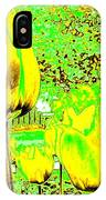 Yellow Tulips Abstract IPhone Case