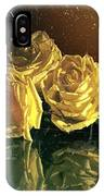 Yellow Vintage Roses  IPhone Case