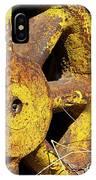Yellow Wheel IPhone Case
