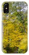 Yellow With Vertical Lines IPhone Case