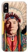 Yellowhead, A North America Indian Medical Practitioner IPhone Case