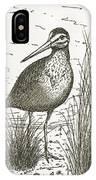Yellowlegs Shorebird IPhone Case