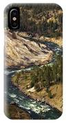 Yellowstone River Canyon IPhone Case