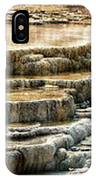 Yellowstone Rock Formation IPhone Case