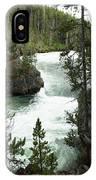 Yellowstone Waterfall IPhone Case