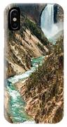 Yellowstone Waterfalls IPhone Case