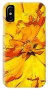 Yelow Tulip IPhone Case