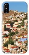 Yialos Town On Symi Island IPhone Case