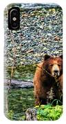Yikes, It's A Grizzly IPhone Case