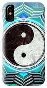 Yin Yang -  The Healing Of The Blue Chakra IPhone Case