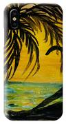 Yoga Seated Side Bend IPhone Case