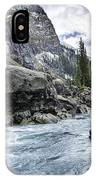 Yoho River At Takakkaw Falls IPhone Case
