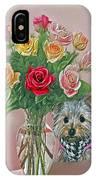 Yorkey Rose IPhone Case