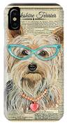 Yorkshire Terrier-jp3856 IPhone Case
