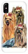 Yorkshire Terriers IPhone Case
