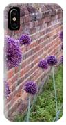 Yorktown Onions Along The Wall IPhone Case