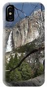 Yosemite Falls Tree IPhone Case
