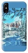 Yosemite In Winter IPhone Case