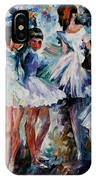 Young Ballerinas IPhone Case