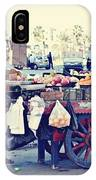 Young Boy Fruit Seller IPhone Case