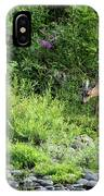 Young Doe Among The Flora, No. 2 IPhone Case
