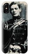 Young Faces From The Past Series By Adam Asar, No 111 IPhone Case