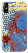 Young Girl With Blue Eyes IPhone Case