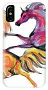 Young Horses Playing IPhone Case