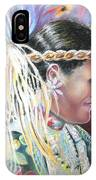 Young Polynesian Mama IPhone Case