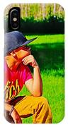 Young Thinker IPhone Case