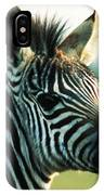 Young Zebra IPhone Case