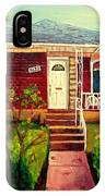 Your Home Commission Me IPhone Case