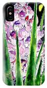 Yucca Flower Plant Southwestern Art IPhone Case
