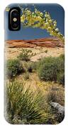 Yucca In The Valley Of Fire IPhone Case