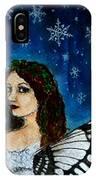 Yuletide Fairy IPhone Case