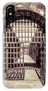 Yuma Territorial Prison Gate IPhone Case