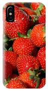 Yummy Fresh Strawberries IPhone Case