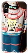 Z-bot Robot Toy IPhone Case