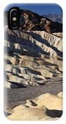 Zabriskie Point In Death Valley IPhone Case
