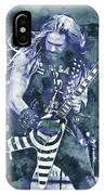 Zakk Wylde - Watercolor 07 IPhone Case