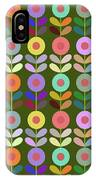 Zappwaits Flower IPhone Case