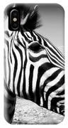 Zebra 2 IPhone Case