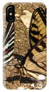 Zebra And Tigers IPhone Case
