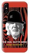 Zebra Blues Man IPhone Case