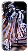 Zebra Fish IPhone Case