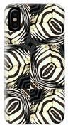 Zebra IIi IPhone Case