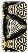 Zebra Iv IPhone Case